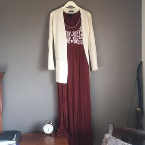 Cinnamon Spice Maxi Dress